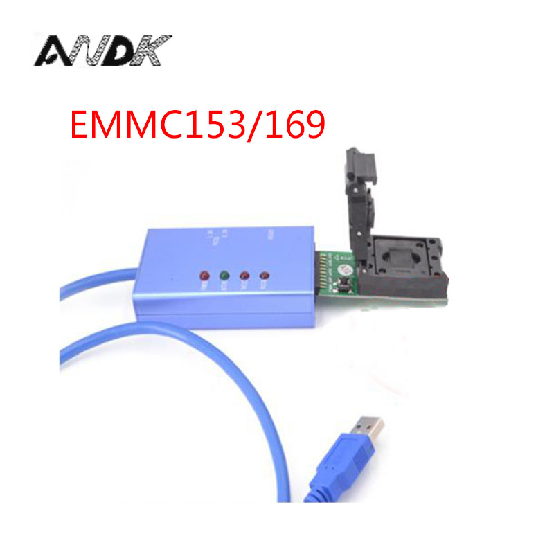 EMMC153 169 socket for your Choice data recovery tools for android phone eMMC programming Socket