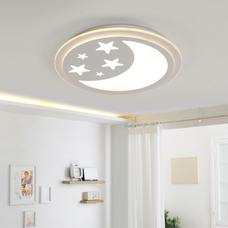 Acrylic Modern star moon led ceiling lights for living room bedroom dining room home ceiling lamp lighting light fixtures