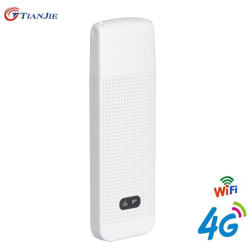 4G Wifi routeur 4G voiture USB Modem Mini bâton carte de Date point daccès Mobile sans fil USB WI-FI Dongle fournisseur daccès avec SIM Solt