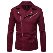 2018 New autumn winter Mens jacket Fashion Outerwear coat fashion Jackets handsome Casual Sporting Coat EU size