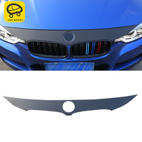 CAR MANGO For BMW 3 series F30 2018 Auto Car Engine cover sticker trim Sticker Cover Accessories