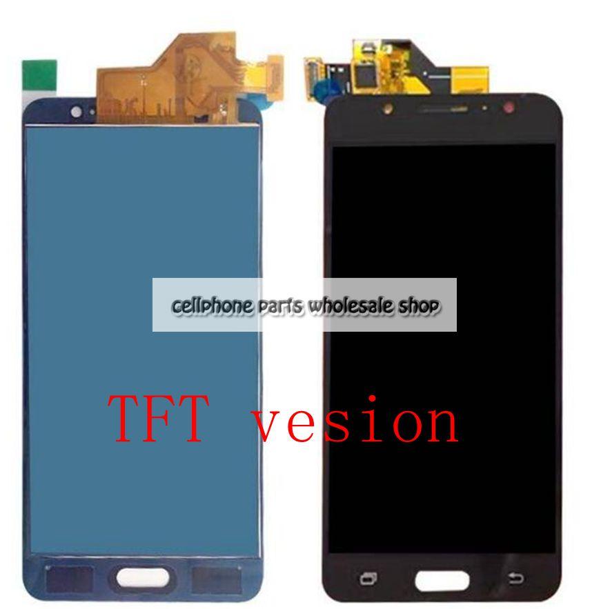 2016 Pour Samsung Galaxy J5 J510 J510FN J510Y J510M Lcd écran Avec Écran Tactile Assemblée Verre TFT version ont rétro-éclairage