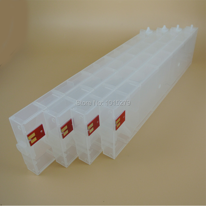 440ml Empty refillable ink cartridge for Mimaki JV33 JV5 printers with SS21 permanent chips