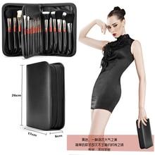 Top Grade Mink Hair MC Kabuki Pro Cosmetic Make Up Brush Set Soft Powder Foundation Eyeshadow Eyeliner Lip Brush Goat Hair