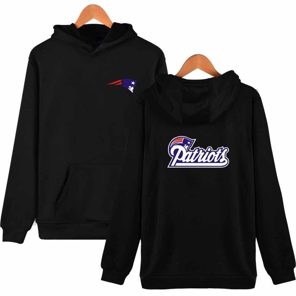 NFL New England Patriots Sweatshirt Men Women Hoodies Hooded Loose Sweat  Streetwear Clothes a4c1b745f