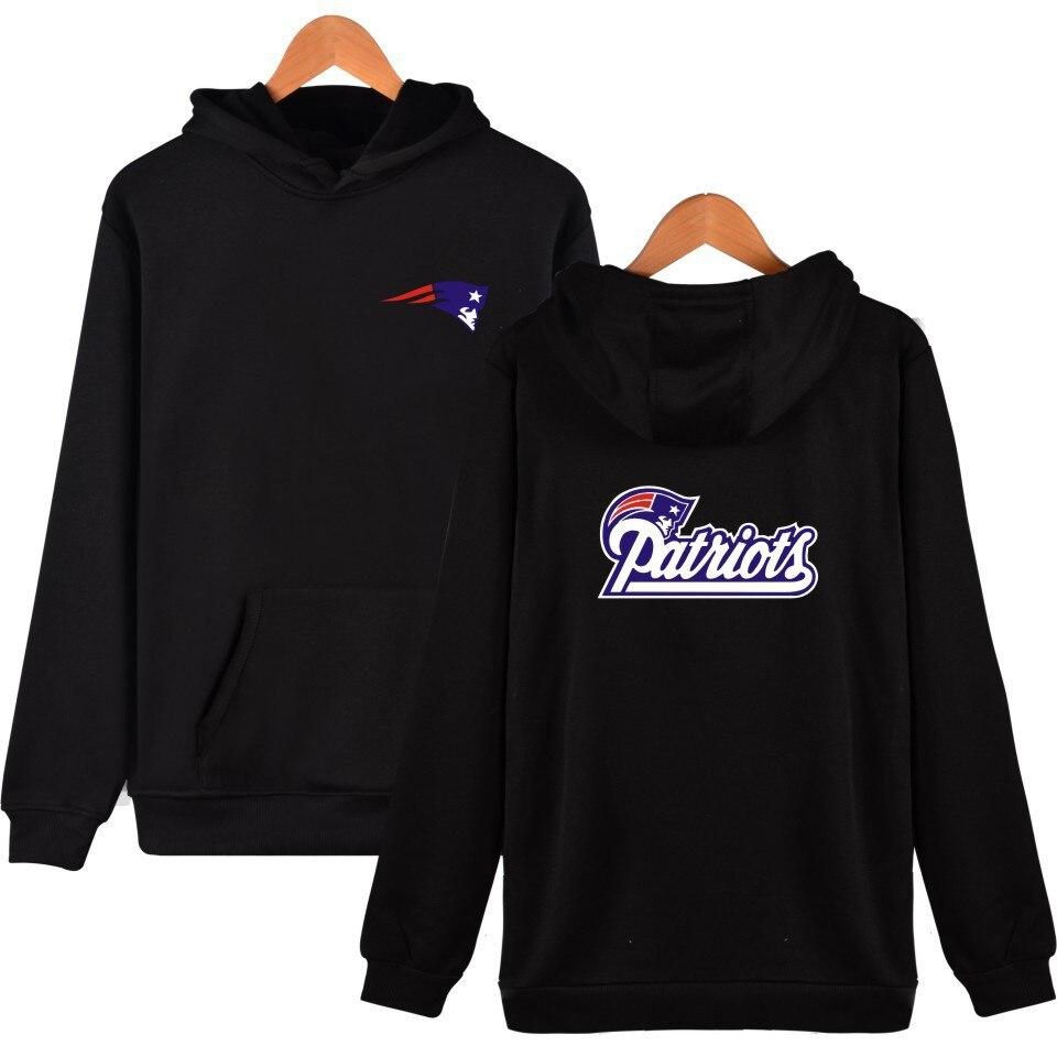 530f7eb5 NFL New England Patriots Sweatshirt Men Women Hoodies Hooded Loose Sweat  Streetwear Clothes