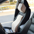 back supporte for car seat neck pillow Fiber Slow Rebound Memory Foam hot production on sale X3 X5 X6 A6 A4 A8 E200 C4 megane 2
