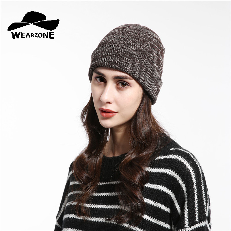 2017 New arrival popular hats women's beanies hats for Spring and Autumn knitted Female fashion caps gorros