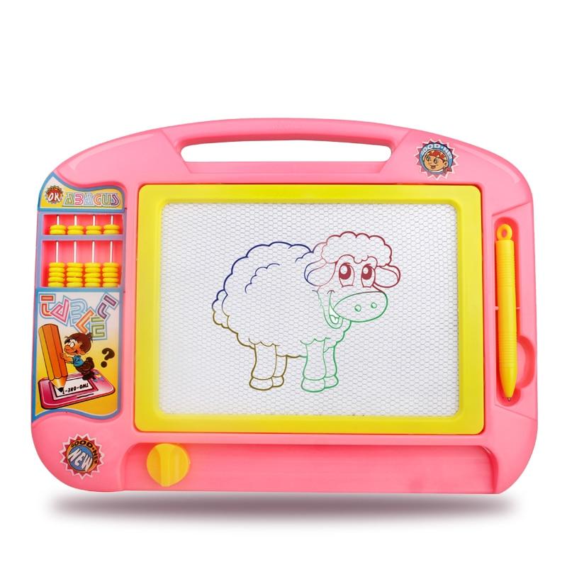 Leadingstar головоломки для рисования детская Магнитная Чертёжные доски стираемые эскиз каракули Pad написание Книги по искусству детский подаро... ...