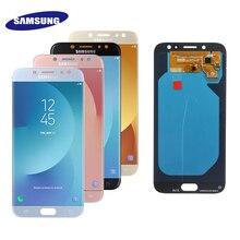 5.5 OLED תצוגה עבור SAMSUNG Galaxy J7 פרו J730 LCD עבור סמסונג J7 2017 תצוגת מסך מגע Digitizer J730F 100% מבחן