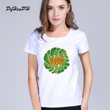 VEGAN in lettuce women's shirt