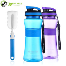 Large Capacity BPA free My Water Bottles Portable Sports Durable Bottle with Tea Infuser Rope and Brush for FREE 700ml
