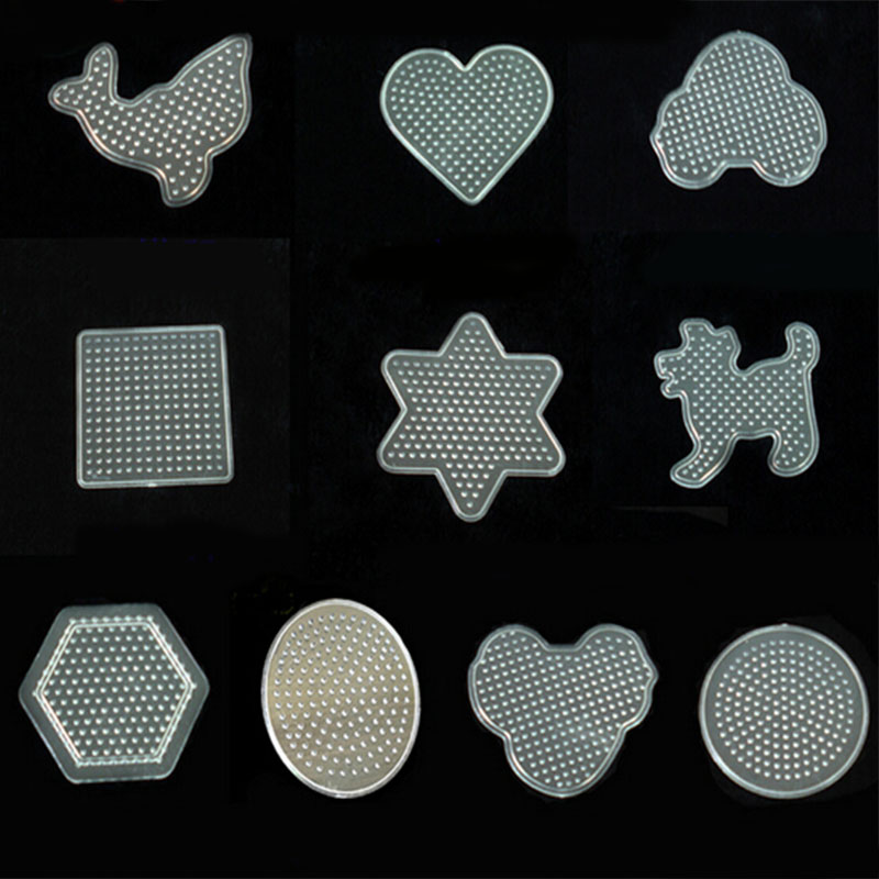 Cheap Sale 5mm Pegboard Perler Hama Bead Template Kid Tweezer Fuse Iron Paper Kit Craft Peg Board Quality First Tools Hand & Power Tool Accessories