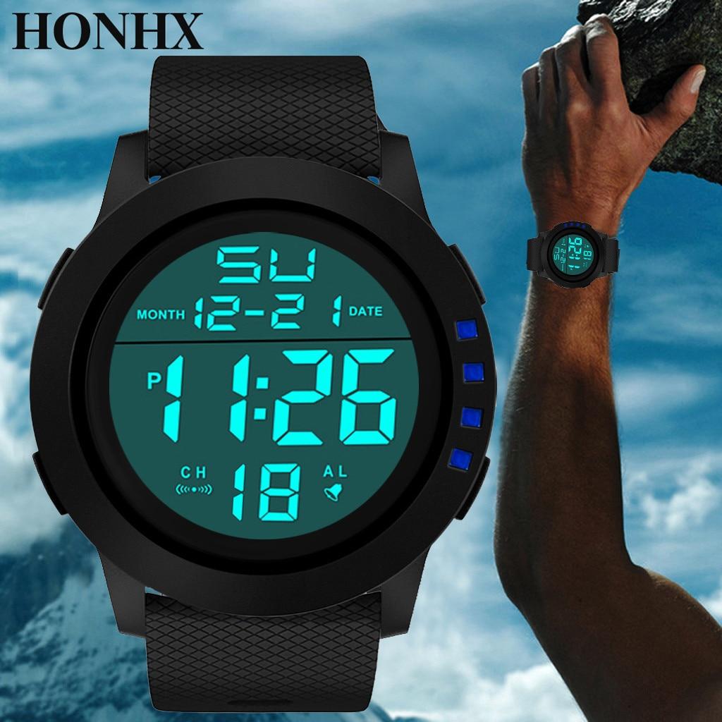 Digitale Uhren Ehrlich Sanwony Luxus Männer Analog Digital Military Sport Led Wasserdichte Armbanduhr Smart Watch Männer Sim Karte Armbanduhr Uhr Frauen Ein Unverzichtbares SouveräNes Heilmittel FüR Zuhause Uhren