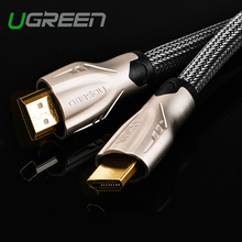 Ugreen hdmi kabel 1 mt 2 mt 3 mt 5 mt hdmi zu hdmi kabel hdmi adapter 4 Karat 3D 1,4 v kabel für HD TV LCD laptop PS3 projektor computer kabel(China (Mainland))