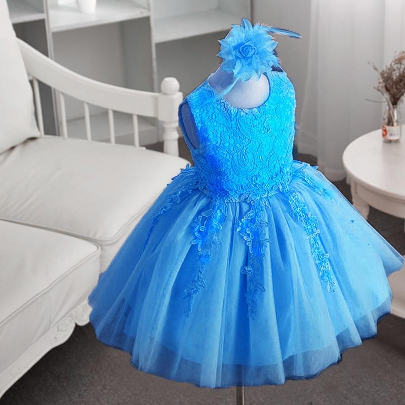 HTB1jDh2XjnD8KJjSspbq6zbEXXa1 2019 Kids Tutu Birthday Princess Party Dress for Girls Infant Lace Children Bridesmaid Elegant Dress for Girl baby Girls Clothes