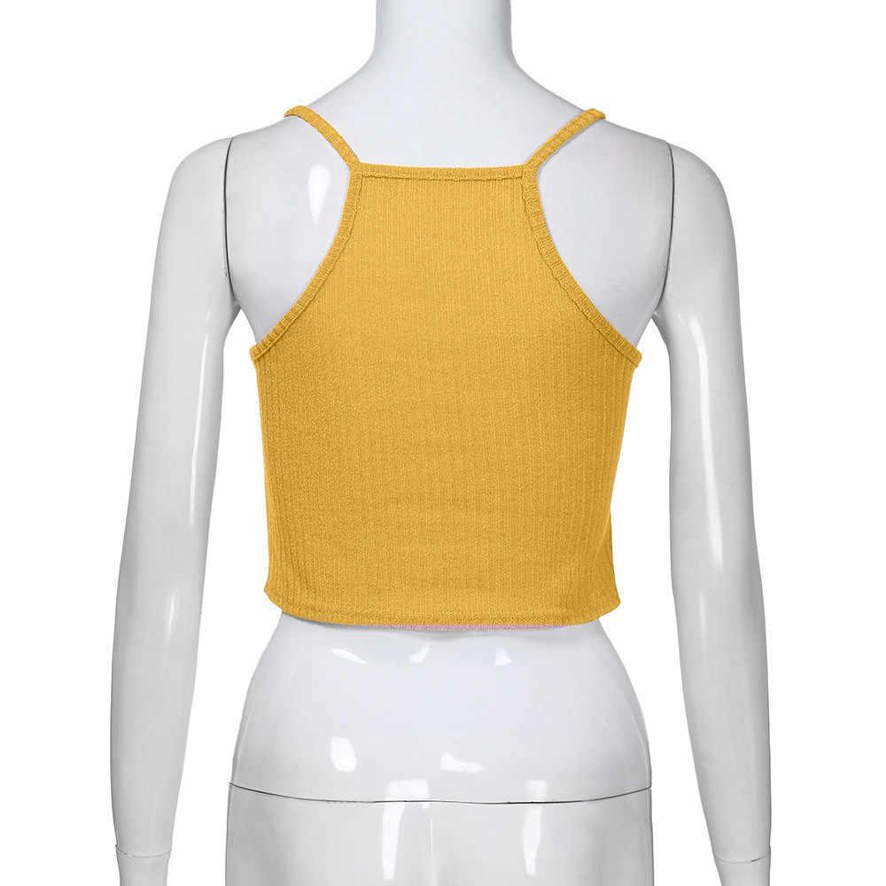 ニットタンクはセクシーなストラップレスのベストプラスサイズ固体クラブトップス女性黒ベージュ tシャツ綿タンクトップ作物 3.2 # YL35