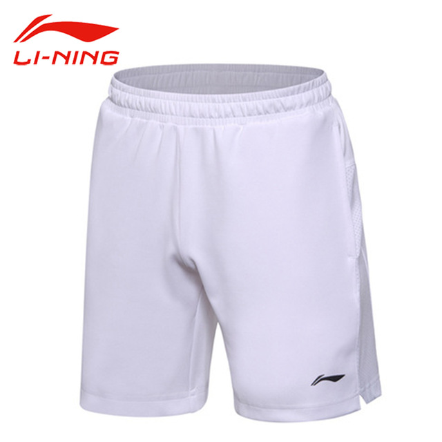 Li-Ning New Men Badminton Shorts Competition Bottom AT DRY Regular Fit Comfort Breathable LiNing Sports Shorts AAPM149-1H