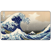 Magic trading card game Playmat: The Great Wave off Kanagawa art playmat for trading card game 60cm x 35cm (24
