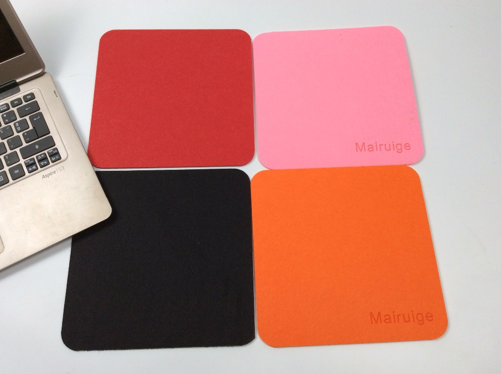 Mairuige New Felt Cloth Rectangle Hot Selling New 240*200*3mm Universal Mouse Pad Mat For Laptop Computer Tablet PC