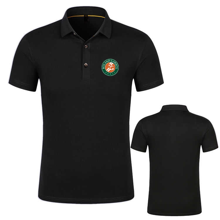 French Open Roger Federer Nadal Djokovic Simona Halep Andy Murray Brand New Fashion Men Polo Shirts 2019 Summer Cotton