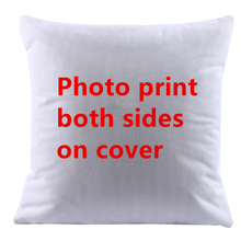 Design Picture Print both sides Pet , personal photo customise cushion cover pillow case