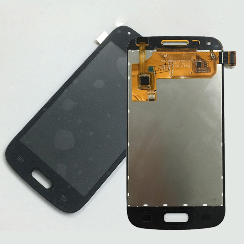 Black For Samsung Galaxy Core Plus SM-G350 G350 Full Touch Screen Digitizer Sensor Glass + LCD Display Panel Monitor Assembly