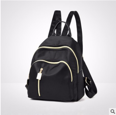 Fashion 2019 Simple Students Travel Backpack  Solid Casual Solid Bag Small Black Girls Cheap Back Pack Bags For Women