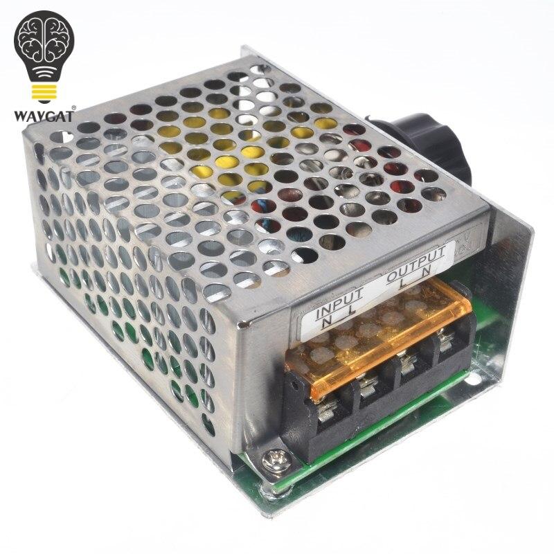 מקצועי מייצבי מתח 4000 w 220 v מתח גבוה SCR מהירות בקר אלקטרוני מתח רגולטור נגיד טרמוסטט BS