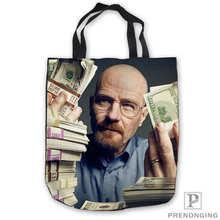 94b8a973d4fe Пользовательские холст art_breaking_bad_acrylicTote сумки сумка-шоппер  Повседневное пляжные сумки Складная 180713-50(China