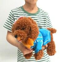 Singing Walking Musical Teddy Dog Husky Electronic Pet Dog Toys for Children Leash Dog Called Electric Dance Music Plush