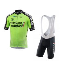 2018 new fluor green Ropa Ciclismo pro team cycling jerseys kits summer Bicycle maillot breathable MTB bike clothing gel pad