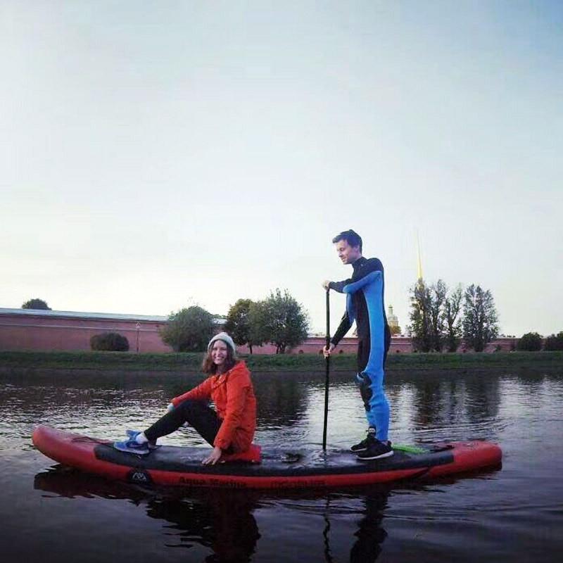 Planche de surf 365*82*15 AQUA MARINA MONSTRE planche de stand up paddle gonflable stand up paddle conseil surf kayak sport bateaux gonflables A01002 - 3