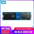 Western Digital Blue SN500 SSD Drive 250 ГБ 500 Гб M.2 2280 NVMe PCIe Gen3 * 2 Внутренний твердотельный накопитель для ПК Бесплатная доставка