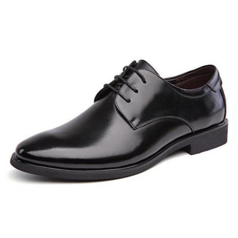 Thick black dress shoe laces