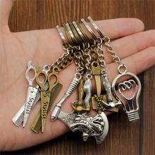 цена на Hot Sale Key Chains Key Rings Tool Axe Car Metal Pendant Key Chain Car Keychain Bag Charm Keyring For Girlfriend Handmade Gift
