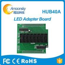 Preço barato adaptador hub40a board para exposição conduzida da cor cheia