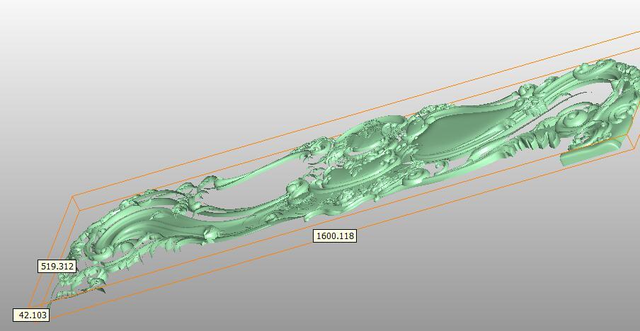 Förderung!! STL Modell Bett für CNC Router 3D Drucker Artcam Aspire Bas Relief R548