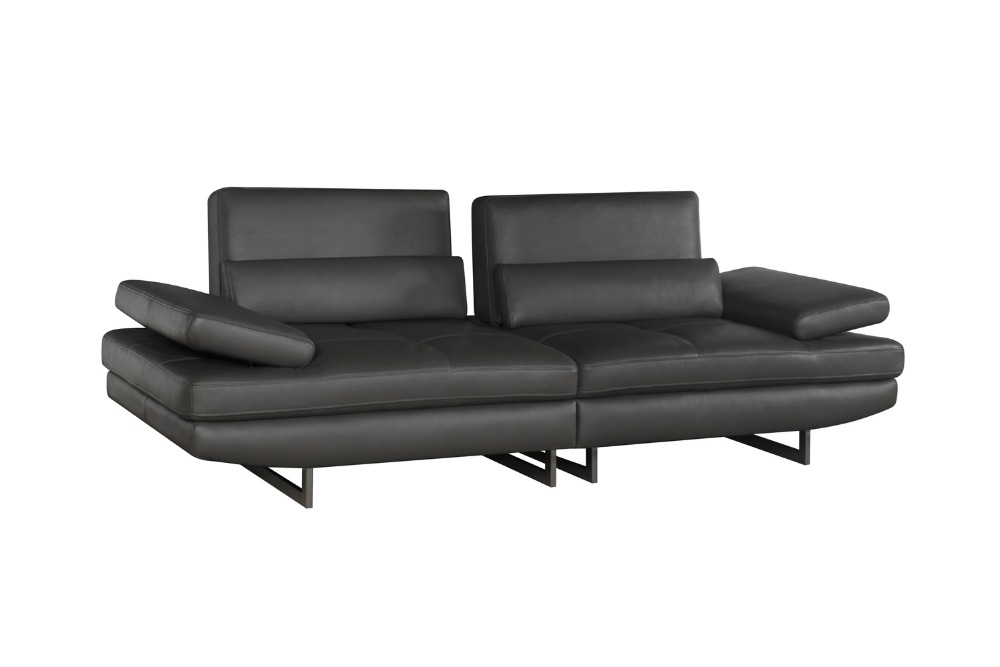 Galleria fotografica High quality cow top graded real genuine leather <font><b>sofa</b></font>/living room <font><b>sofa</b></font> furniture latest style home used 3 seater leather couch