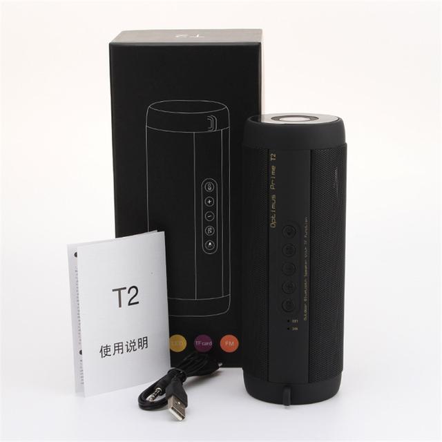 M&J Wireless Best Bluetooth Speaker Waterproof Portable Outdoor Mini Column Box Loudspeaker Speaker Design for iPhone Xiaomi