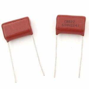 Image 4 - MCIGICM 1000 pcs 220nF 224 630V CBB Polypropylene film capacitor pitch 15mm 224 220nF 630V