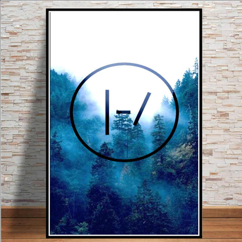 Posters and Prints Twenty One Pilots Music Band Poster Wall Art Picture Canvas Painting for Room Home Decor