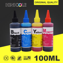 100ml Tinte Refill-Kit Für HP 21 22 301 302 304 121 122 123 650 652 300 140 141 350 351 343 338 XL Patrone Drucker Dye-tinte(China)