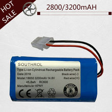 High quality 14.8V 2800mAh/3200mAH Chuwi battery Rechargeable Battery for ILIFE ecovacs A4S V7s A6 V7s pro Chuwi iLife battery