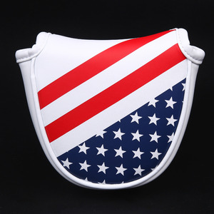 Image 2 - Siranlive Golf Mallet Head Cover Putter Cover with Magnetic Closure Golf Headcover USA Flag Free Shipping