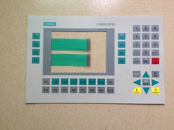 6AV3525-1EA41-0AX1 OP25 SIMATIC HMI Keypad, Protective Film,Membrance6AV3525-1EA41-0AX1 OP25 SIMATIC HMI Keypad, Protective Film,Membrance