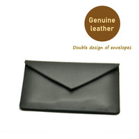 Envelope Laptop Bag Super Slim Sleeve Pouch Cover Genuine Leather Laptop Sleeve Case For Dell XPS