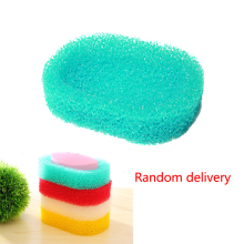 цена на candy colro Sponge Soap Dish Plate Bathroom Kit Soap Holder