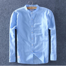 Schinteon men primavera verão camisa de linho algodão fino gola confortável undershirt masculino plus size qualidade superior frete grátis