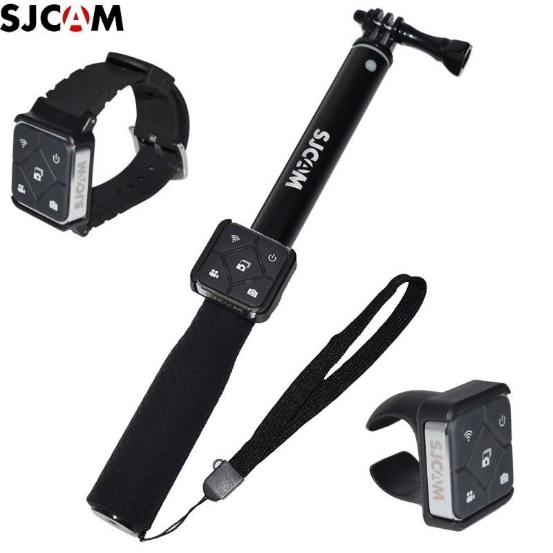 Original SJCAM Remote Control WiFi Watch/Wrist Band Remote Battery Selfie Sticks/Monopod For M20/SJ6 Legend/SJ7 SJ8/pro SJ9 A10